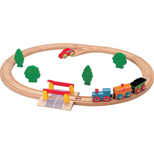 Nuchi Oval Train Set With Crossing ($29)