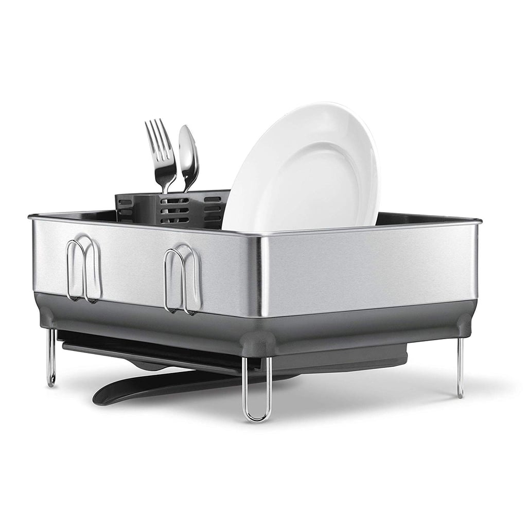 Simplehuman Kitchen Compact Steel Frame Dish Rack