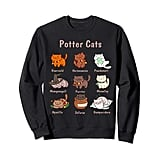 Potter Cats Harry Pawter Sweatshirt
