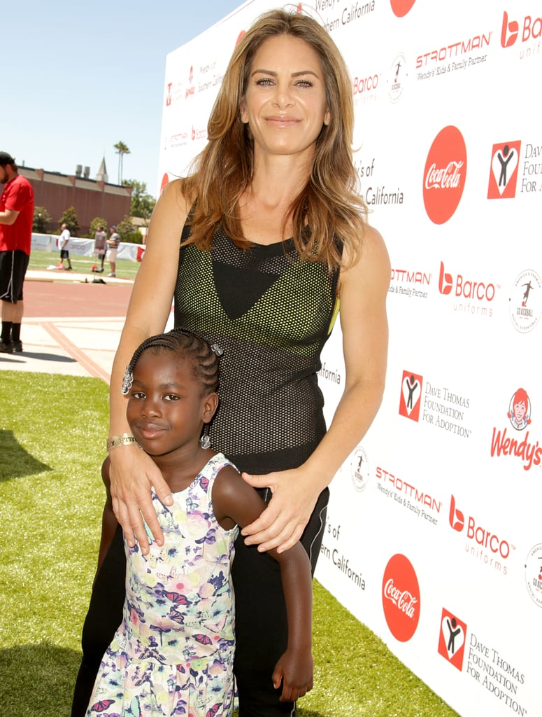 Jillian Michaels and her fiancée, Heidi Rhoades, have had many precious moments since they welcomed their son, Phoenix, and adopted their daughter, Lukensia, in 2012. Luckily, the personal trainer often shares snippets of her family life on Instagram, and, occasionally, she and her brood hit the red carpet together. Regardless of what they're doing, the family always looks like they're having a good time. Keep reading to see their sweetest moments together, and then check out all the celebrity families you should be following on Instagram.