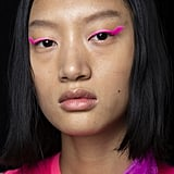 Spring 2020 Runway Beauty Trends: Shocks of Neon