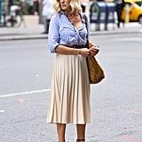 A Pleated Skirt