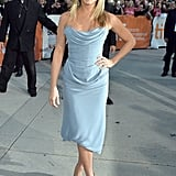 Jennifer Aniston premiered her film Life of Crime at the Toronto International Film Festival.