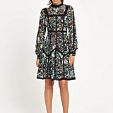 Rochelle Humes Floral And Lace Panel Tea Dress (£60)