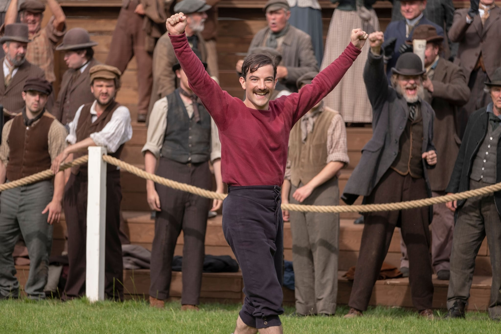 THE ENGLISH GAME, Kevin Guthrie, (Season 1, ep. 104, aired Mar. 20, 2020). photo: Oliver Upton / Netflix / Courtesy Everett Collection