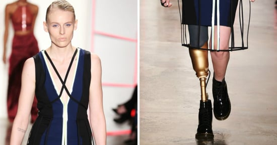 Model Who Lost Leg To Toxic Shock Syndrome Slays At Fashion Week