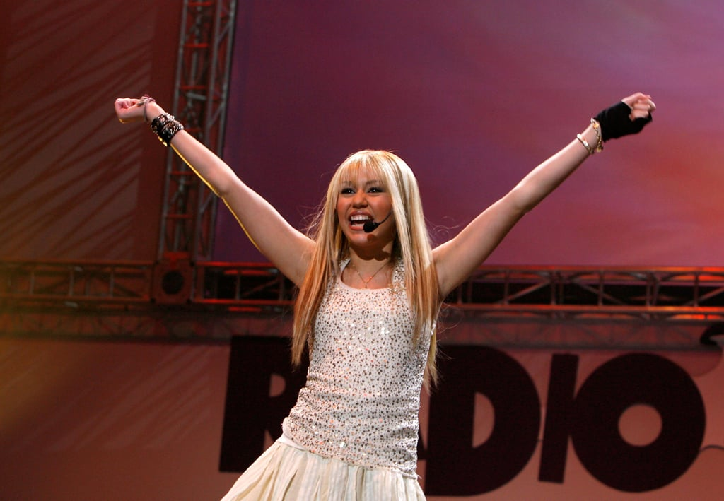 Miley performed as her alter-ego, Hannah Montana, at the Radio Disney Totally 10 Birthday concert in Anaheim.