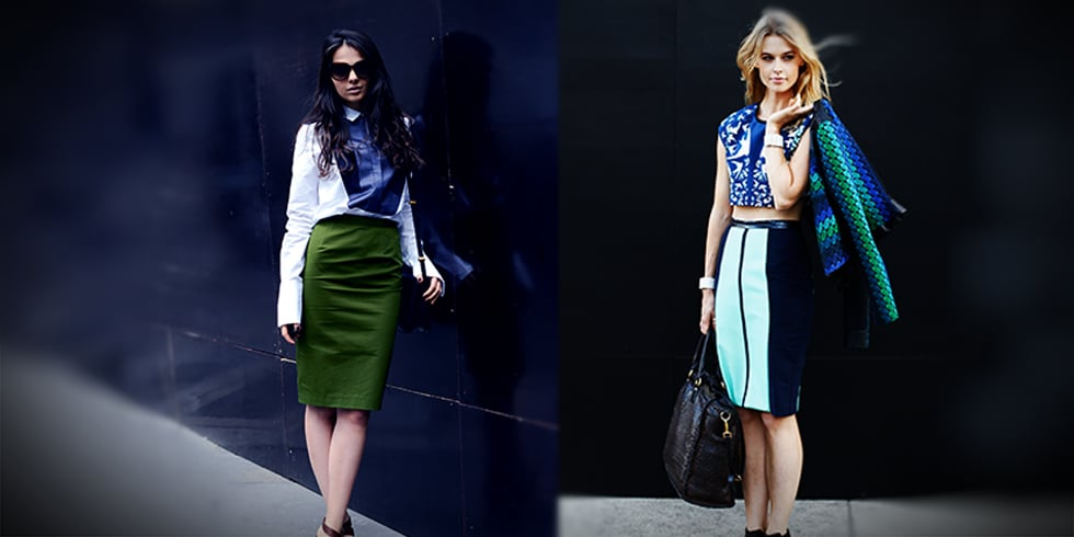 Why You Should Be Wearing a Pencil Skirt This Weekend...