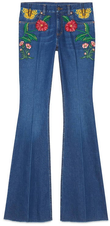 Gucci Garden Exclusive Denim Pant