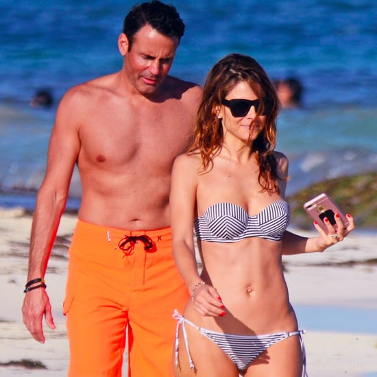 Maria Menounos and Keven Undergaro in Mexico Dec. 2016