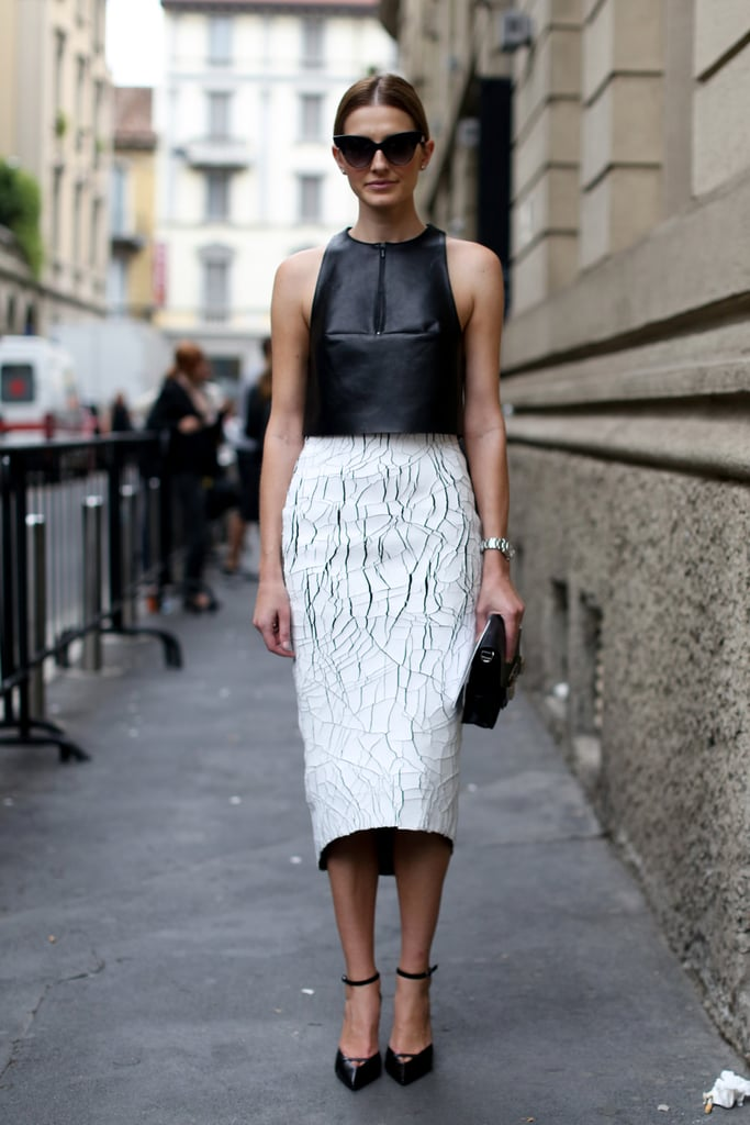 Structured, high-impact black and white.