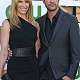 Dylan McDermott posed with Toni Collette at the CW, CBS, and Showtime party.