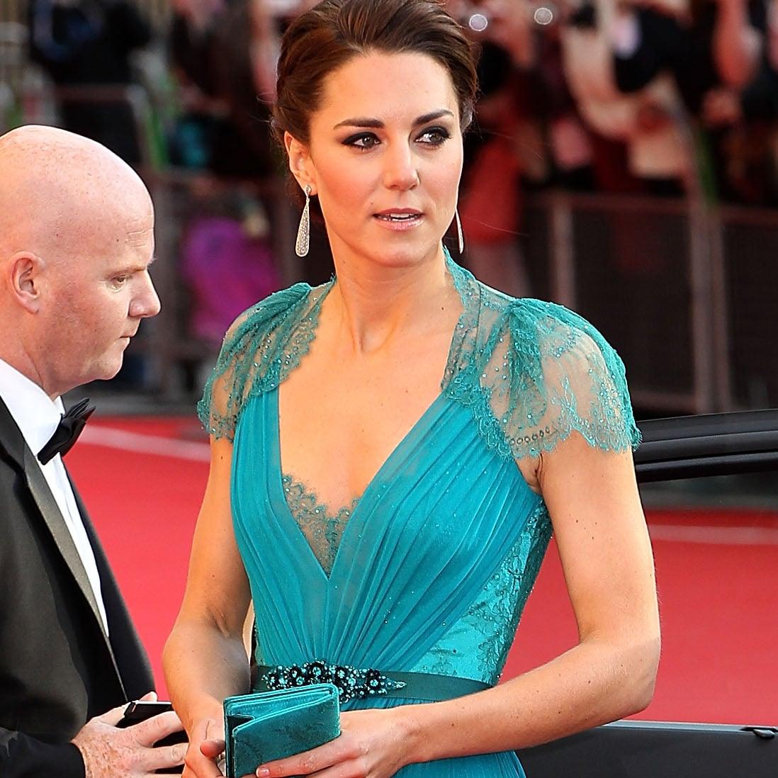 Kate Middleton in Jenny Packham Dresses | POPSUGAR Fashion
