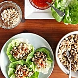 Chinese Chicken and Shiitake Mushroom Lettuce Wraps