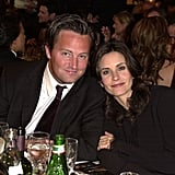 Matthew and Courteney gave us strong Chandler and Monica nostalgia in this photo from the Golden Globes in 2002.
