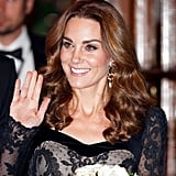 Kate Middleton's Ultra-Glossy Ringlets, 2019