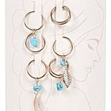 River Island Blue Hair Charms Pack