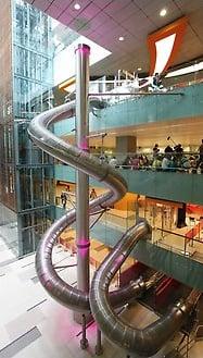 Singapore Airport Slide