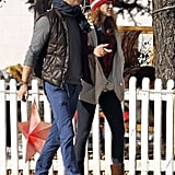 Ryan Reynolds and Blake Lively took a Winter stroll through Colorado after the holidays.