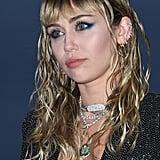 Miley Cyrus at Saint Laurent's Spring 2020 Menswear Runway Show in June 2019