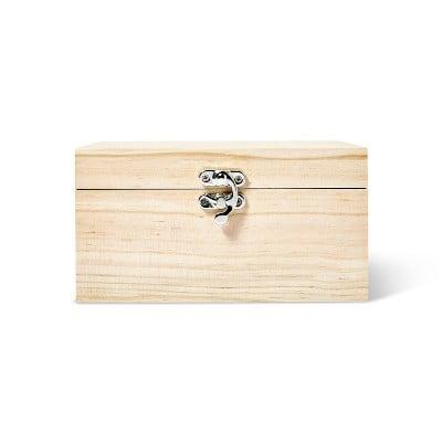 Mondo Llama Wood Jewelry Box
