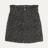 Bershka Short Paperbag Skirt
