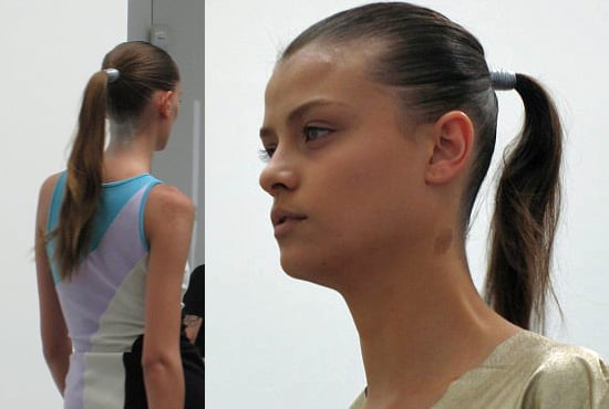 Love It or Hate It? Tight 'Tails and Nude Faces at Josh Goot