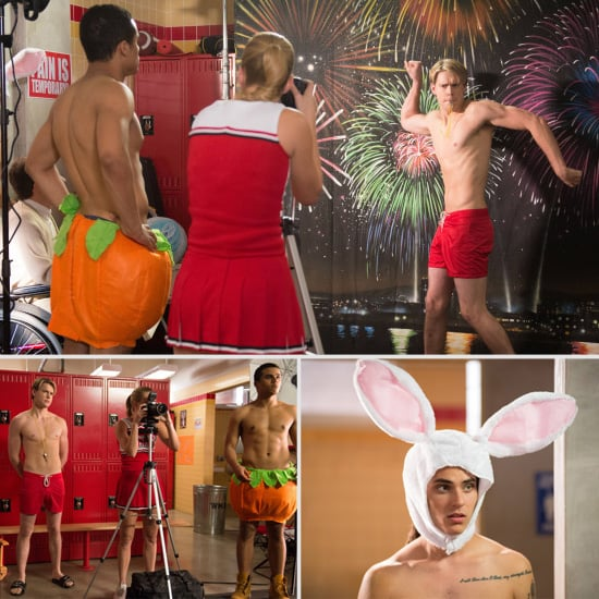 See the Glee Guys Pose For a Men of McKinley Calendar
