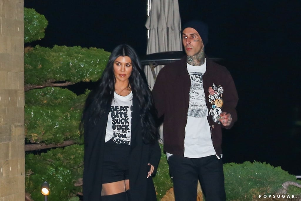 Kourtney Kardashian and Travis Barker's Cutest Pictures