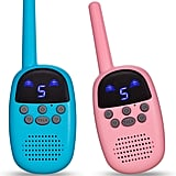For 7-Year-Olds: Omzer Toy Walkie Talkies For Kids