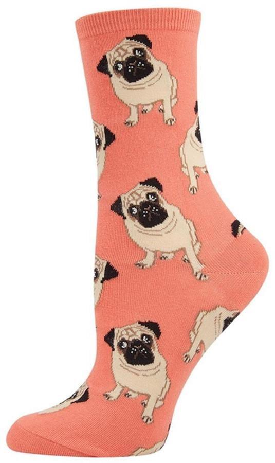 Socksmith Peach Pug Socks ($8)