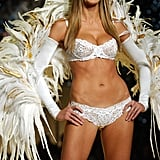Heidi Klum took the runway in November 2001 at the Victoria's Secret show.