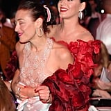 Mia Moretti and Katy Perry