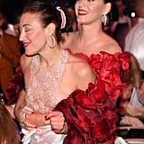 Mia Moretti and Katy Perry