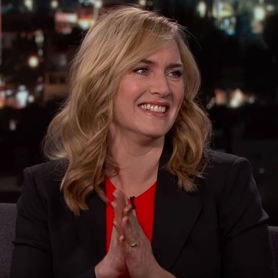 Kate Winslet Jimmy Kimmel Live Février 2016