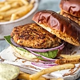 Chicken Burgers With Feta and Sun-Dried Tomato