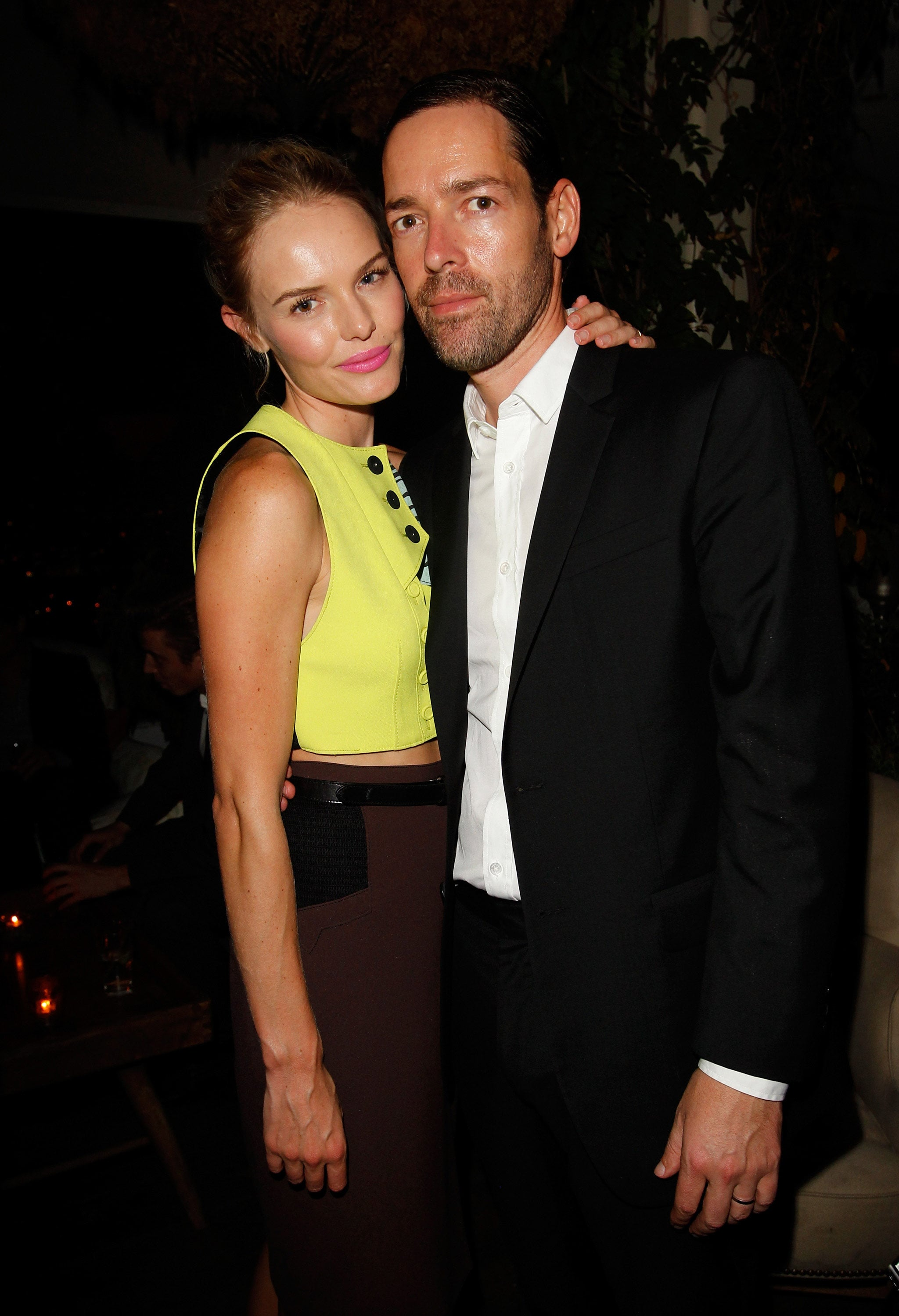 Kate Bosworth put her arm around Michael Polish in LA.