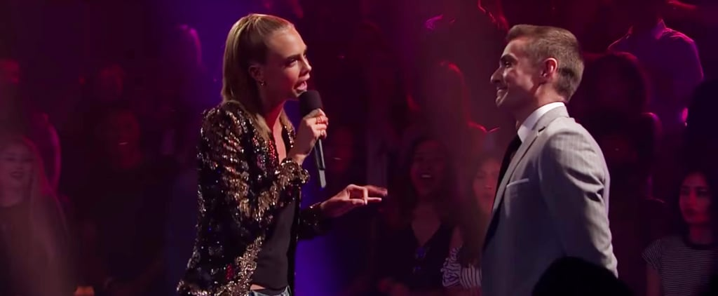 Cara Delevingne and Dave Franco's Rap Battle Is So Intense, It Will Almost Make You Uncomfortable