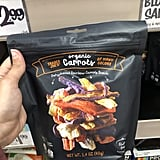 Organic Dehydrated Rainbow Carrot Snacks ($3)