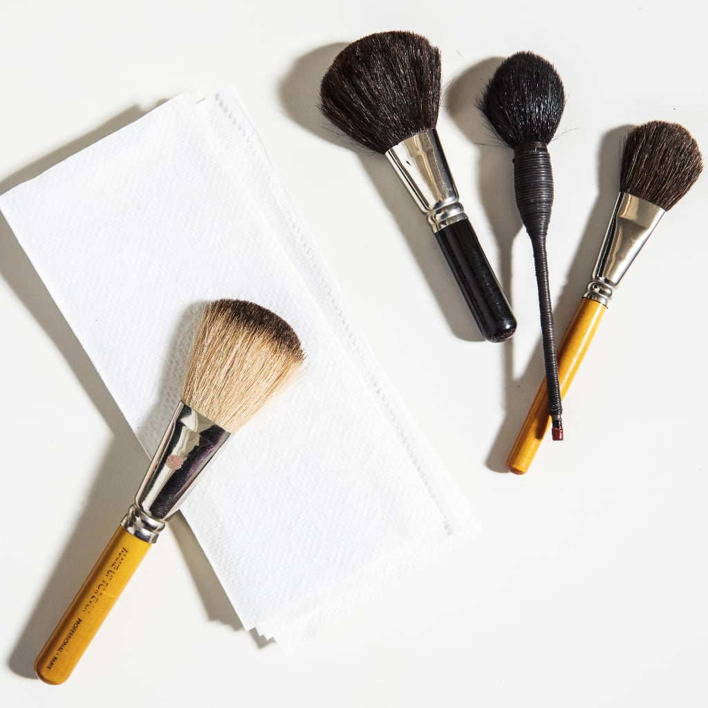 how to use your makeup brushes