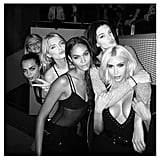 The Girls' Night Out Was Documented on Instagram