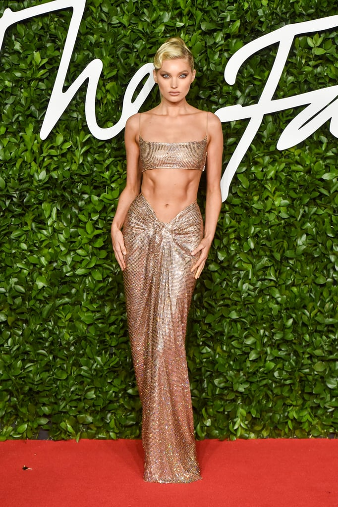 Elsa Hosk at the British Fashion Awards 2019