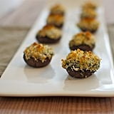 Artichoke- and Spinach-Dip-Stuffed Mushrooms