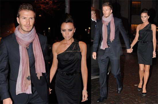 Photos of David Beckham and Victoria Beckham in Milan