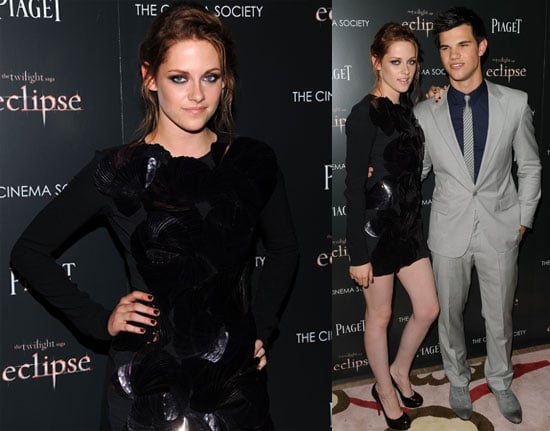 Kristen Stewart's New Light Hair at NYC Eclipse Screening With Taylor Lautner