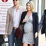 Ali Larter and her husband, Hayes MacArthur, grabbed lunch in LA on Monday.