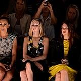 Lauren Conrad and Mandy Moore both had front row seats at the Lela Rose show.
