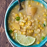 Creamy Potato Corn and Jalapeño Soup
