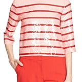 Kate Spade Stripe Sequin Top ($428)