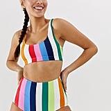 Monki High-Waisted Bikini